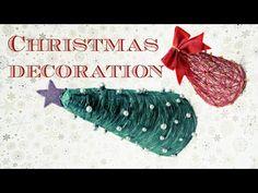 Stromeček z bavlnky (Christmas Tree of Cotton - decor) DiY - YouTube