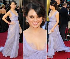 We all remember Mila's lavender Elie Saab at the 2011 Oscars, right?  God, she rocked that so hard.