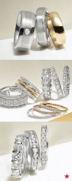 From sleek and slim to stackable and unique, there are so many gorgeous his and hers wedding bands to choose from. Find the right style for you at macys.com now.