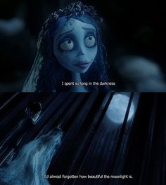 Emily and Victor Corpse Bride | Emily,the corpse bride Emily and the moonlight