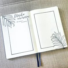 """Polubienia: 1,305, komentarze: 17 – liz (@bonjournal_) na Instagramie: """"I set aside a few pages in my journal to record memories from our vacation with family.  Swipe to…"""""""