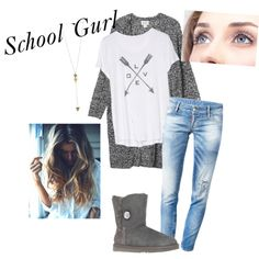 School Outfit Polyvore