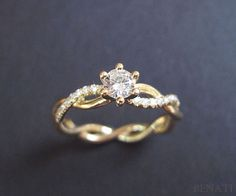 To my future husband: this is the ring I want. not any others on this page. this one. with a matching wedding band. -Rebekah  p.s.- either yellow gold or rose gold.