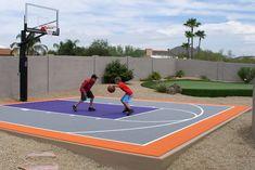 7 Basketball Ideas Basketball Court Backyard Home Basketball Court Outdoor Basketball Court