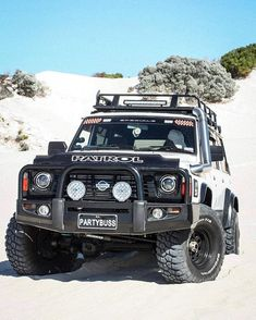 Finally got to take the bus for a play in the sand 🤩 Gave it a good thrashing and the temps didn't budge! Loved having more grunt down low… Nissan 4x4, Nissan Trucks, Patrol Gr, Nissan Patrol, 4x4 Off Road, Nissan Pathfinder, Land Rover Defender, Garage, Pickup Trucks