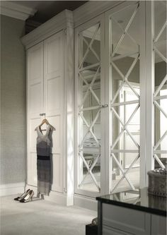 Beautiful floor to ceiling wardrobes