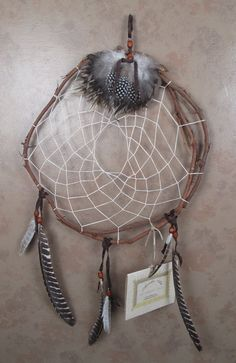Large Dreamcatcher by ArcadiaArts on Etsy