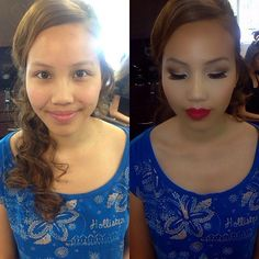 before and after #chrystiartistry