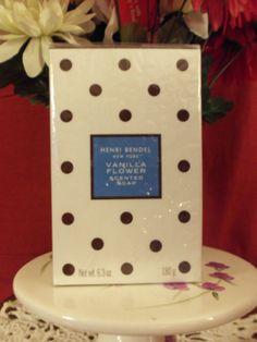NEW Henri Bendel New York Vanilla Flower Scented Soap 6.3 oz. Sealed & HTF!! #HenriBendel