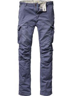 Basic cargo pants - Pants - Scotch & Soda Online Shop