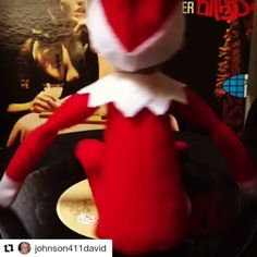 "#Repost @johnson411david with @repostapp  Blanco's back again spinning for ""tequila""! #owlorganic #blancofriday #thechampstequila #elfontheshelf #elfspinning45 December 01 2016 at 07:58PM"