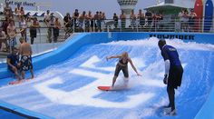 FlowRider aboard Royal Caribbean International