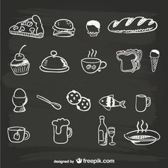 Discover the best free resources of Chalkboard Menu Chalkboard Doodles, Blackboard Art, Chalkboard Lettering, Chalkboard Signs, Speisenkarten Designs, Menu Boards, Food Icons, Vintage Wine, Chalk Art