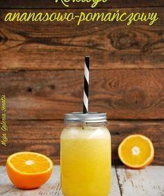 Odchudzający koktajl ananasowo-pomarańczowy - Napoje