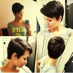 TR S POPULAIRE: 18 coupes de cheveux courts   la mode   photos ...