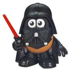 Darth Tater - Mr. Potato Head Star Wars - Mr. Potato Head toy with all the mix-and-match parts to make Darth Vader :-)