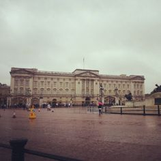 Buckingham Palace! The Queen was home!