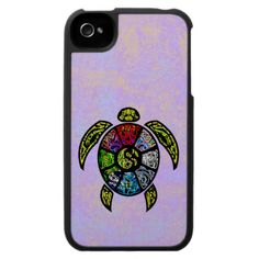 Turtle Ba-Gua Case For The iPhone 4 from TheElementalHome* on Zazzle - SOLD a turtle case 7.5.13