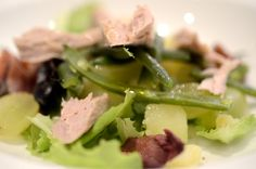 insalata nicoise con tonno fresco