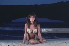 News Photo : Model Paulina Porizkova poses for the 1984 Sports...