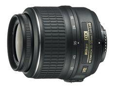 Price: $196.95  Nikon 18 55mm f/3.5 5.6G AF S DX VR Nikkor Zoom Lens  $NikonLenses #NikonSLRCameraLenses #DSLRLenses #Affordable #Cheap