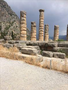 Mei 2017. Delphi, Griekenland