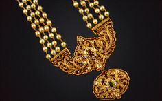 antique south indian jewellery | ... with Antique Pendant - Indian Jewellery Designs South Jewellery
