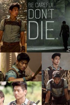 Ki Hong Lee- Minho- The Maze Runner