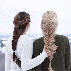 braids with friends