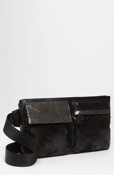 Yeay for fanny packs back in style!!! Whoo hoo!     Vintage Reign 'The Traveler' Leather Belt Bag available at Nordstrom