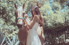 VALENTINA LOBEIRA - Orange Marketing® girl w horse