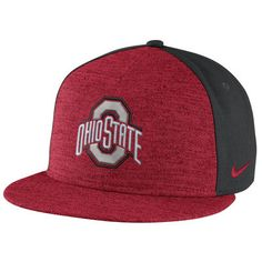 low priced c125c 10ae9 Ohio State Buckeyes Nike Flyknit True Snapback Adjustable Hat - Heathered  Scarlet Anthracite