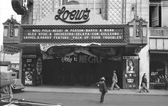 another view of the Loews Theater, 1932