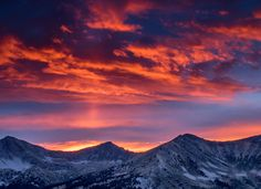 The most beautiful sunset I've ever seen in Colorado [OC] [4829x3504] #nature #beauty