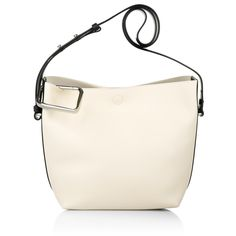 Looks chic & casual: 3.1 Phillip Lim Quill Mini Bucket Bag in powder.  www.fashionette.de