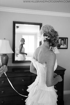 bride photography - Hillebrand