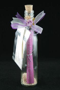 Invitación de #boda en una botella / A #wedding invitation in a bottle