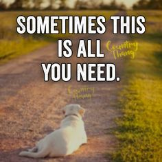 Sometimes this is all you need. #lifefactquotes #countrythang…
