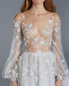 Paolo Sebastian 2015-16 Spring Summer Couture Collection #wedding #dress #style #bride
