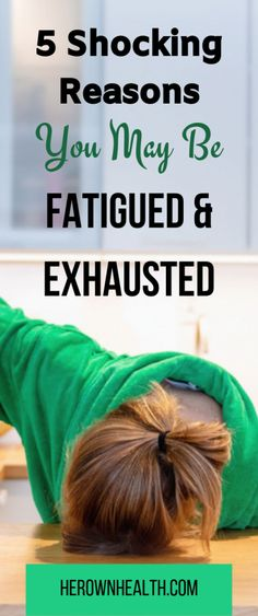 Are you wondering why am I always tired and have no energy? Discover 5 shocking reasons you may be fatigued and exhausted. Wellness Tips, Health And Wellness, Health Tips, Health Fitness, Women's Health, Mental Health, Causes Of Fatigue, Always Tired