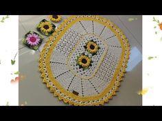 TAPETE OVAL GIRASSOL PRÁTICO videoaula /passoapasso tapeteoval - YouTube Crochet Earrings, Rugs, Holiday Decor, Instagram, Home Decor, Youtube, Crochet Carpet, Oval Rugs, Crochet House