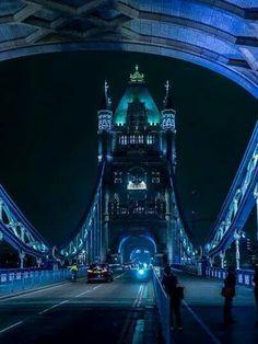 Blue hour at Tower Bridge London
