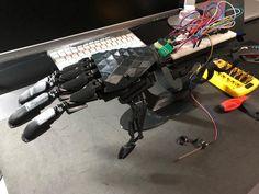 Bionic Hand and Parametric Design . #bionic #robot #design #DIY #industrialdesign #prosthetics #instagood #3dprint #follow #3D #3dmodel #cosplay #cyborg #mechatronics #medical #beautiful #technology #amazing #style #cool #ironman #maker #arduino #RaspberryPi #mechanics #animation #look #instagood #selfie #love #inspiration