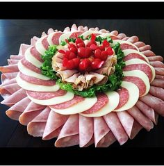 food presentation ideas at home \ food presentation . food presentation ideas at home . food presentation tips . Charcuterie Platter, Meat Platter, Meat Trays, Appetizers For Party, Appetizer Recipes, Party Recipes, Dessert Recipes, Desserts, Meat And Cheese Tray