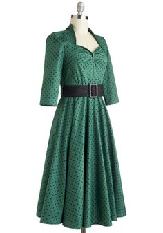 Pine for the Past Dress, #ModCloth