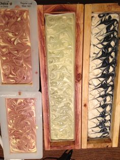 Fresh made soap, in the molds! Soap, Fresh, Handmade, Craft, Soaps, Arm Work, Hand Made