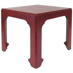 Baker oriental side table   From a unique collection of antique and modern end tables at http://www.1stdibs.com/furniture/tables/end-tables/