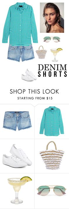 """""""Summer Backyard Look"""" by kotnourka ❤ liked on Polyvore featuring J Brand, J.Crew, Mystique and Gucci"""