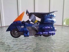 Batman Motorcycle Dc Comics Robin Dark Knight Figure Batmobile Bat Push And Go  #Unbranded #batman #dccomics #darkknight #superhero