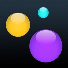 Make all kinds of bouncy balls react to sounds from your microphone. A great sound/noise monitor for classrooms and a fun way to visualize music.